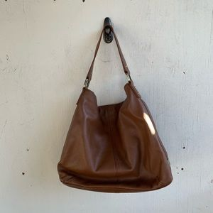Kooba Bags - Kooba Brown Leather Hobo Shoulder Bag Purse